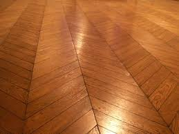 Herringbone Pattern Wood Floor