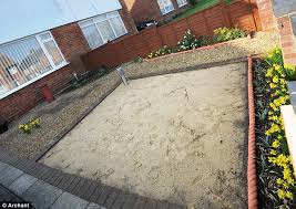 who front garden design without grass