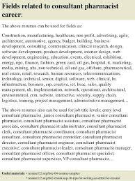 Pharmacist Sample Resume Consultant Pharmacist Resume Example Sample New Best P Awesome