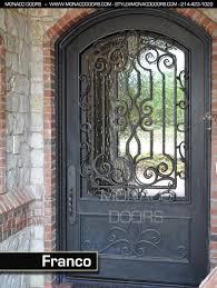 custom front dooriron entry doors iron front doors  Monaco Doors