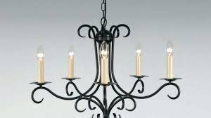 real candle chandelier the 5 arm wrought iron bespoke lighting co amazing regarding 2 crystal b