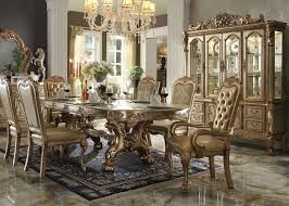room table 72 round dining tables lovely kiera 9pc formal dining table