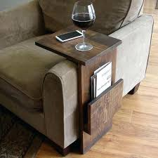 side table side table chair furniture with charging station theo