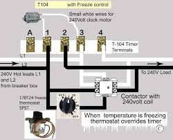 how to wire intermatic t104 and t103 and t101 timers larger image spdt