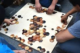 Making Wooden Games Grid Game 17