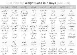 Offbeat Girl Healthy Diet Plan For Weight Loss In Urdu