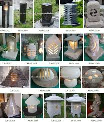 oriental outdoor lighting. natural granite hand carved japanese style lantern outdoor decorative garden stone lamps 24 years factory oriental lighting