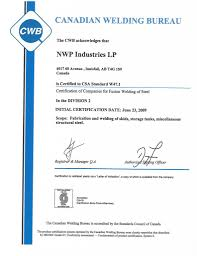 Quality Nwp Industries Lp