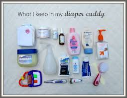 Shockingly, NO DIAPERS! That's because I use cloth diapers, and they take  up more room than disposables. All my cloth diapers and inserts (along with  ...