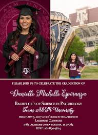 Announcements Pdf Invitations File Graduation amp;m Texas Product College Products printed A Availab Downloadable Custom Announcements …
