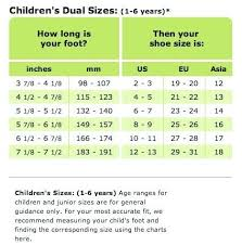 Crocs Size Chart Child