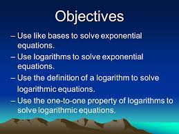 2 8 5 exponential logarithmic equations strategies and practice