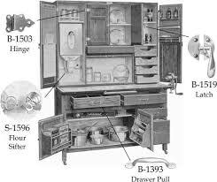 furniture hardware replacement parts. kitchen cabinet hardware: hardware of the past--replacement parts for a hoosier furniture replacement
