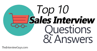 Interview Questions For Executive Assistants Top 10 Sales Interview Questions Example Answers