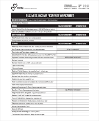 21+ Free Expense Sheet Templates | Free & Premium Templates