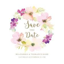 Sentimental Circle Free Save The Date Card Template Greetings Island