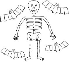 Halloween Skeleton Coloring Pages Naxk Skeleton Coloring Pages Free