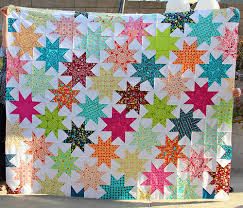 Star Pattern Quilt Enchanting Stitches And Scissors Penelope's Star Quilt Tutorial