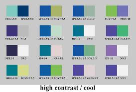 high contrast and cool color pairs ...