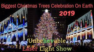 Biggest Christmas Tree Celebration And Laser Light Show 2019