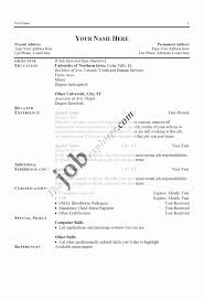 Are There Really Free Resume Templates Basic Cv Templates Free Download Best Of Resume Actually Free 16