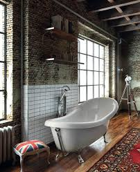 old england freestanding bath with chrome legs