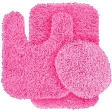 pink bathroom rug set 3 piece blue bath rug set color pink a liked light pink