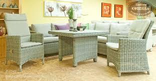 gartenmöbel terrenmöbel loungeecke sessel mit verstellbarer rückenlehne tisch aus polyrattan