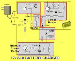 volt lead acid battery charger circuit diagram images acid battery charger circuit diagram also design