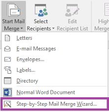 Word Mail Merge How To Use The Mail Merge Feature In Microsoft Word 2016