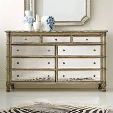 Image Over Top Hooker Furniture Melange 9drawer Montage Mirrored Dresser In Champagne 63890902 Nicky Cornell Hooker Furniture Melange 9drawer Montage Mirrored Dresser In