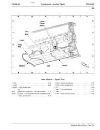 where is the keypad module on 2001 ford explorer sport trac 2001 Ford Explorer Wiring Schematic customer below is the diagram right from the wiring manual that's the only place they list it it is not part of the smart junction box 2000 ford explorer wiring schematic