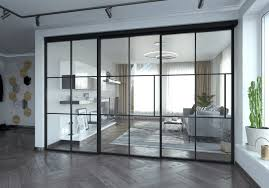 sliding glass door for home and office