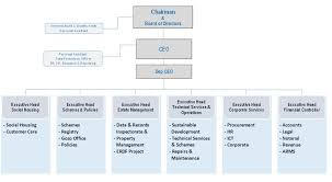Corporate Organizational Chart With Board Of Directors Organisation Structure