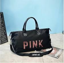 <b>2019</b> Black travel <b>bag</b> pink <b>sequins</b> Shoulder <b>bag</b> woman <b>Handbag</b> ...