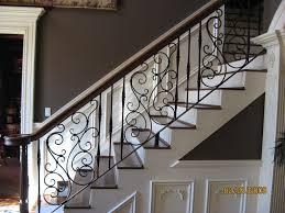decorative railings. decor wrought iron railing to give your stairs unique look home design decorative railings