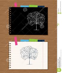 notebook cover and page design royalty stock images image notebook cover and page design