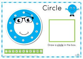 Printable Dot To Dot Shapes Charts Shop At Learning 4 Kids