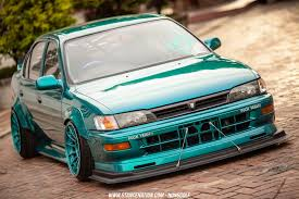 Sticky Ride // Nukung's Unique Toyota Corolla. | StanceNation ...