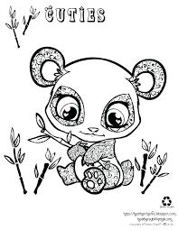 Kawaii Panda Coloring Sheet Zen Coloring Book