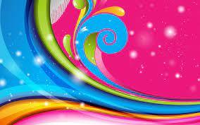 HD Wallpaper: Colorful Swirls Wallpapers