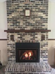 upgraded a customer s home from an old outdated wood burning fireplace with chaska 34 gas insert amazing work once again