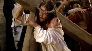 Image result for jesus carrying the cross