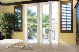Center Hinged Doors Neuma Doors Manufacturer of fiberglass patio