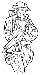 Coloring Pages Online Unblocked Army Soldier Excellent Co
