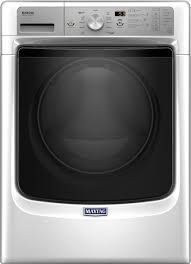 maytag 4 5 cu ft 11 cycle front loading washer white mhw5500fw best