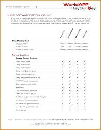 Survey Document Template Customer Satisfaction Cover Format Word