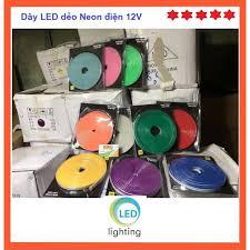 5m Đèn LED dây dẻo 12V dùng uốn chữ, trang trí ô tô, xe máy giảm chỉ còn  29,000 đ