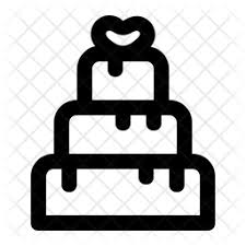 Wedding Cake Icon Of Line Style Available In Svg Png Eps Ai