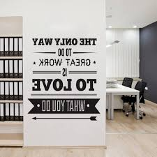 inspirational office decor. Inspirational Wall Art For Office In Well Known Decor Typography Quote Decoration O